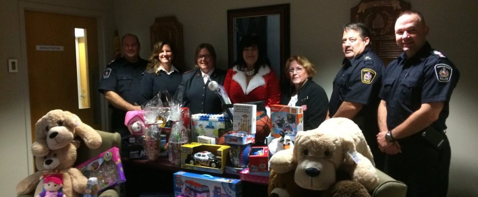 3rd annual CKPS toy drive for Salvation Army. Dec. 05, 2017. (Photo by Paul Pedro)