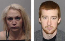 Ashley Nickason and Isaiah Jolin, both of London, are wanted by Lambton OPP. December 27, 2017 Photos provided by OPP.