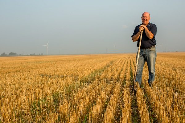 Chatham-Kent area farmer Blake Vince's farming practices will be highlighted at a Water Docs Film Festival in Chatham. (Photo courtesy of the Chatham Sunrise Rotary Club via Facebook)