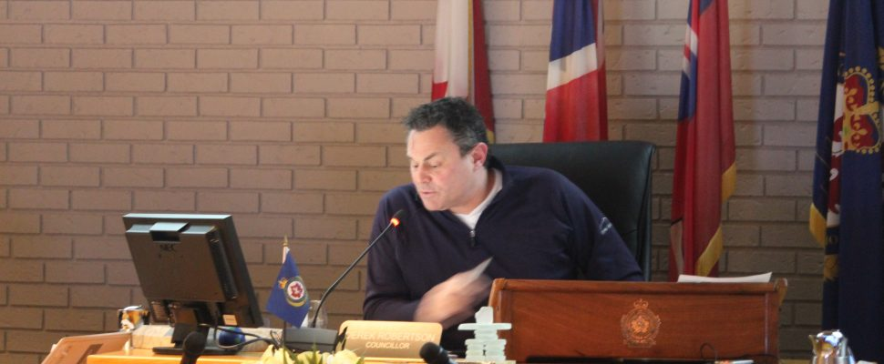 Day one of the 2018 budget deliberations at the Chatham-Kent Civic Centre council chambers. January 30, 2018. (Photo by Sarah Cowan Blackburn News Chatham-Kent).