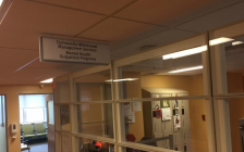A new temporary Withdrawal Management facility opens on the sixth floor of Bluewater Health's Russell St. building. January 12, 2018 (Photo by Melanie Irwin)