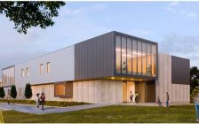 Artist rendering of a new $14-million academic pavilion at Brescia University College. Submitted photo.