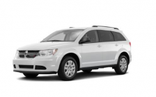 A white Dodge Journey is believed to have been involved in a fatal hit-and-run in London January 2, 2018. Photo courtesy of London police.