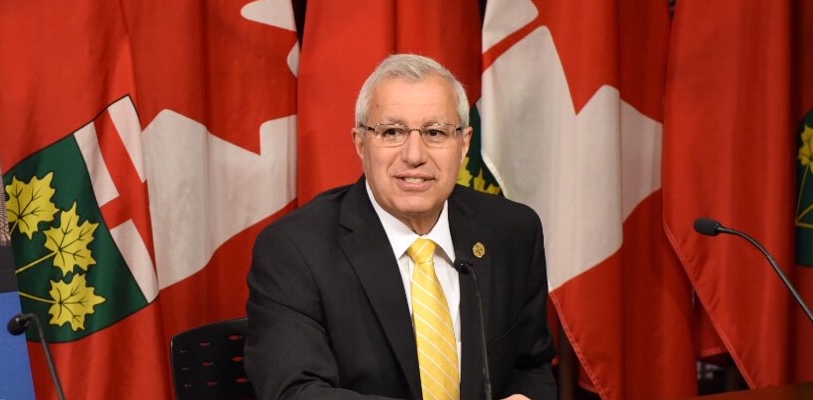 Vic Fedeli named interim leader of the Ontario Progressive Conservatives. Photo from Vic Fedeli's Facebook page.