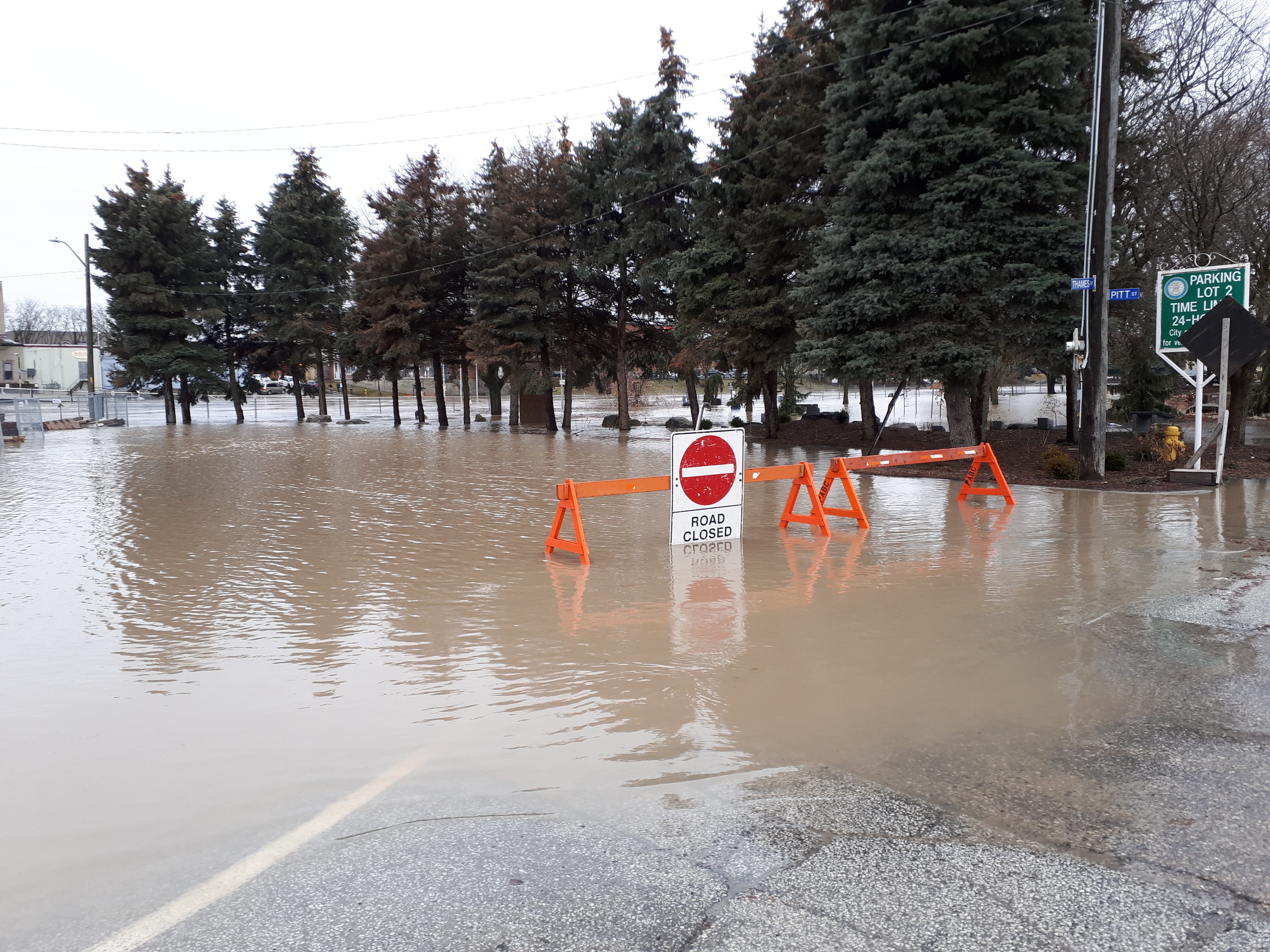 Flooding To Reach Peak In Chatham