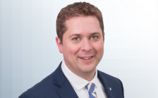 ANDREW SCHEER'S OFFICIAL PORTRAIT (Photo courtesy of www.conservative.ca_