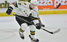 Liam Foudy of the London Knights. (Photo courtesy of Terry Wilson via OHL Images)