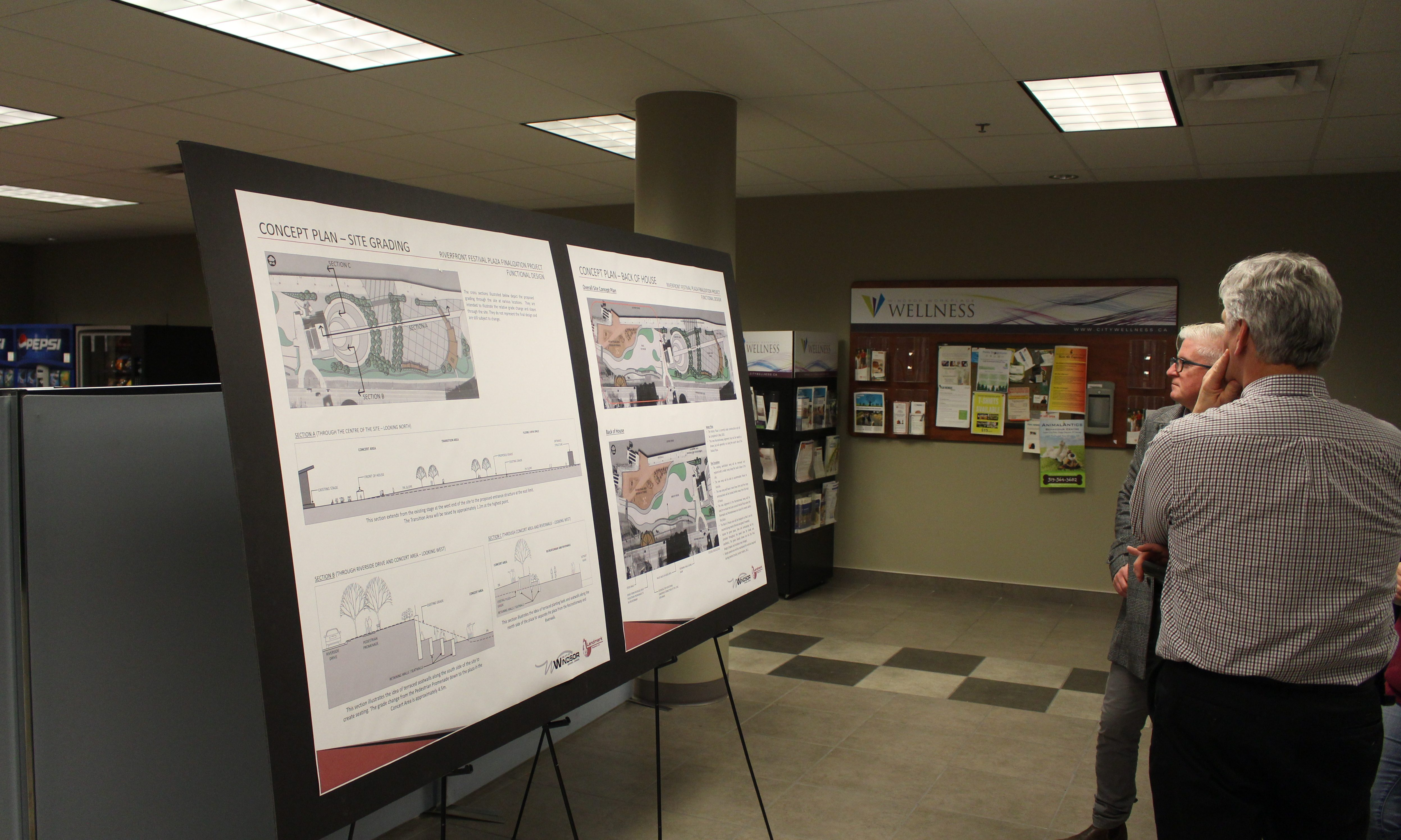 Opinions Sought on Festival Plaza Makeover (GALLERY)