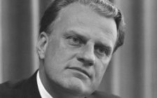 Photo of Rev. Billy Graham pictured in 1966. (Photo courtesy of the U.S. News & World Report collection at the Library of Congress.)