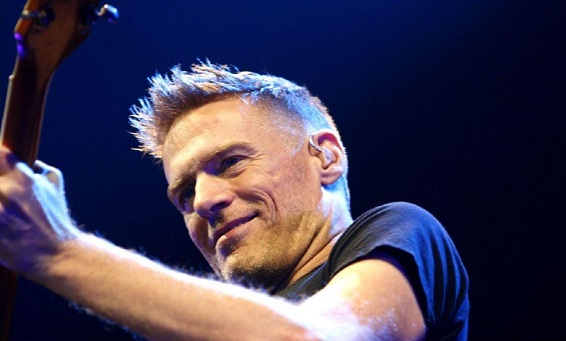Photo of Bryan Adams courtesy of wikimedia-commons.