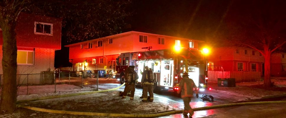 Dryer fire at 349 Sandy St. in Chatham. February 4, 2018. (Photo courtesy of CKFES.)