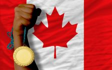 Gold medal Canada (Photo by © Can Stock Photo / vepar5)
