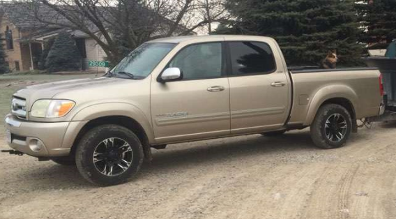 Chatham-Kent police say this truck was reported stolen and then later recovered in Chatham. (Photo courtesy of Chatham-Kent police)