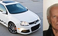 Photo of John Cominsky and his car courtesy of the OPP.