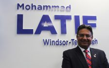 Windsor-Tecumseh Progressive Conservative candidate Mohammad Latif on February 24, 2018. (Photo by Adelle Loiselle)