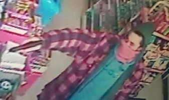 Photo of suspect in Kildare Rd. convenience store robbery provided by Windsor police