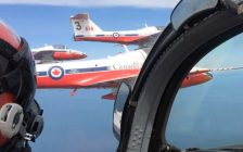 Photo of the Snowbirds by Scott Kitching, BlackburnNewsLondon.com