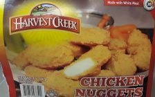 Erie Meat Products Ltd. is recalling Harvest Creek brand chicken nuggets because of a possible Salmonella contamination. (Photo courtesy of the Canadian Food Inspection Agency)