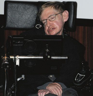 Stephen Hawking. (Photo courtesy of Wikipedia)