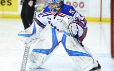 Mario Culina of the Kitchener Rangers. Photo by Aaron Bell/OHL Images