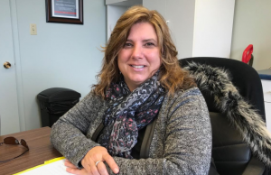 Sarnia Lambton Real Estate Board Vice President Donna Mathewson. February 2018 (Photo by Melanie Irwin)