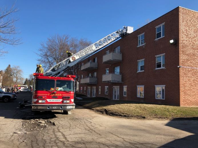 UPDATE: Wallaceburg Apartment Fire Displaces Residents