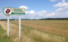 Warwick Township sign. Blackburn News Sarnia (File photo by Melanie Irwin)