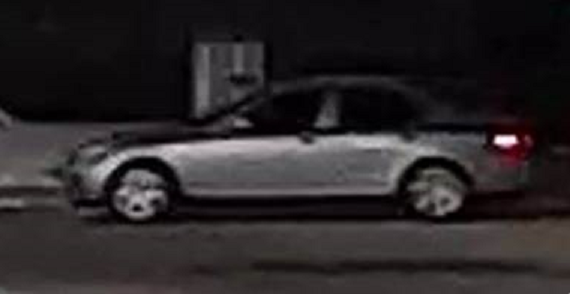Police want to speak with the driver of a silver sedan spotted near Oxford and Wharncliffe on March 4, 2018. Photo courtesy of London police.