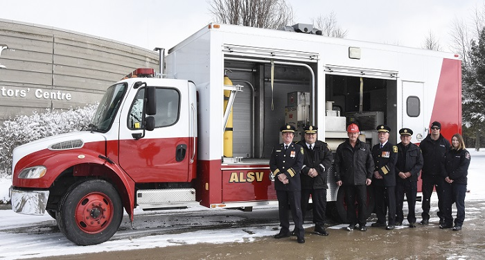 Bruce Power Donates ALSV To Grey County Fire Services