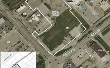 Map of the proposed location for the new casino in Chatham. (Photo provided by the Municipality of Chatham-Kent).