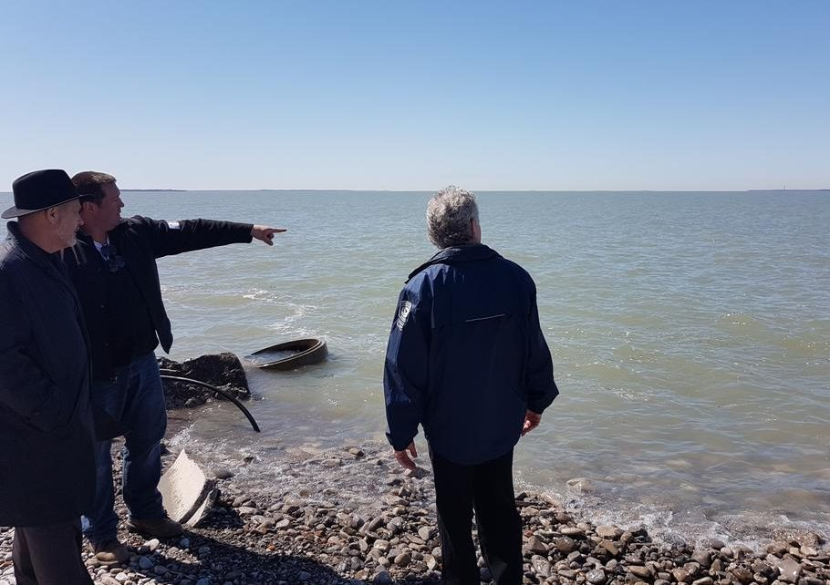 MP Inspects Storm Damage on Pelee Island (GALLERY)
