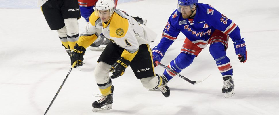 Sting vs Rangers April 6, 2018 (Photo courtesy of Metcalfe Photography)