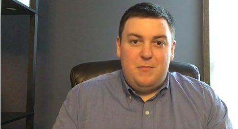 Screen capture of Andrew Lawton from YouTube.