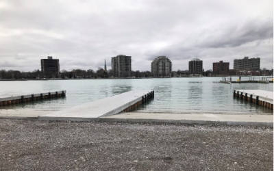 Boat ramp at Sarnia's Centennial Park. April, 2018 (Photo provided by The City of Sarnia.)