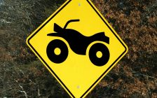 ATV sign. (Photo by © Can Stock Photo / dcwcreations)