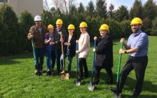 Habitat For Humanity CK holds groundbreaking ceremony in Pain Court. Apr. 27, 2018. (Photo by Paul Pedro)