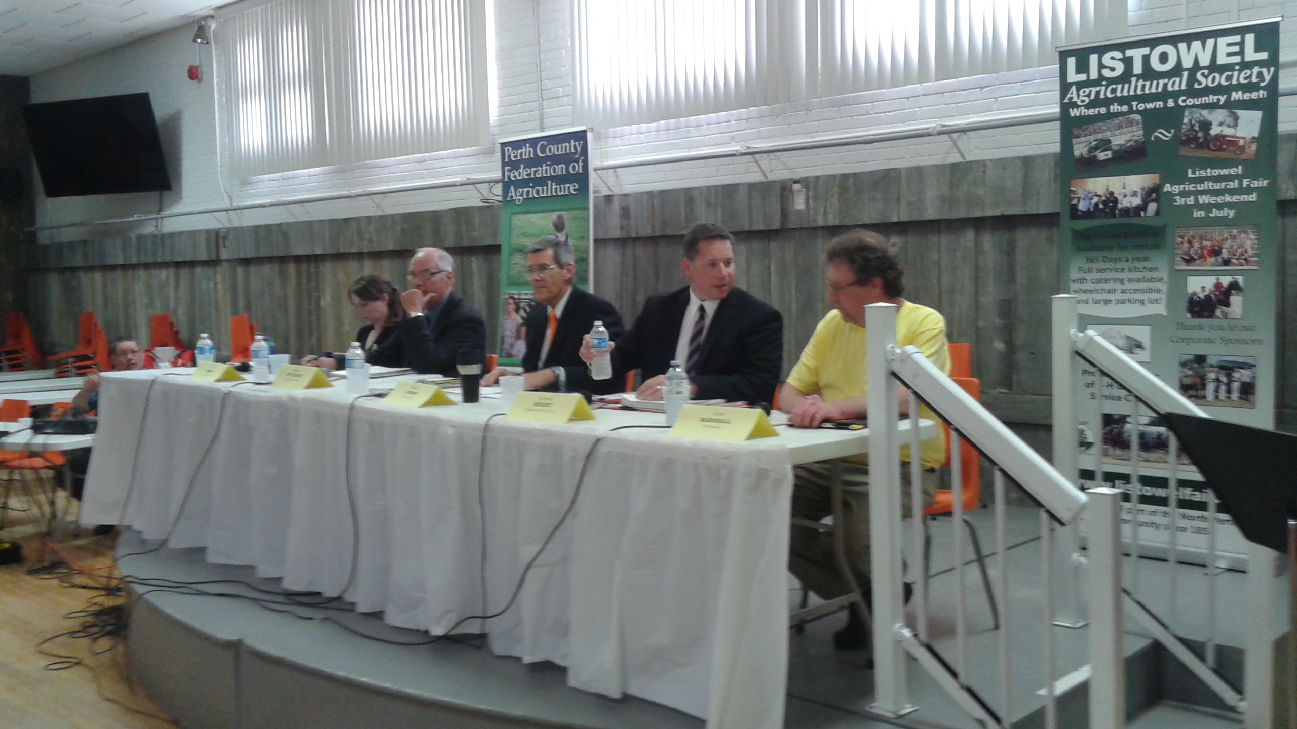 Perth-Wellington All-Candidates Meeting In Listowel