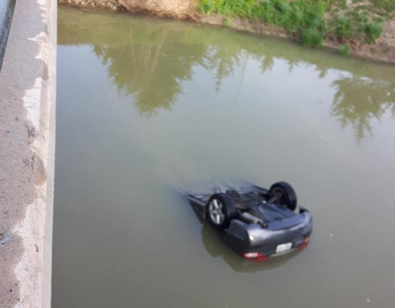 Man Charged After Plunging Into Creek