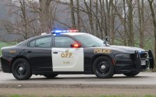 OPP cruiser file photo by Miranda Chant, Blackburn News