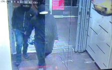 Two suspects wanted in connection with a bombing at an Indian restaurant in Mississauga. May 24, 2018. (Photo courtesy of Peel Regional Police)