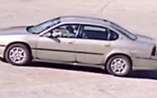 The suspect vehicle wanted in connection with a child abduction in north London on May 13, 2018. Photo provided by London Police Service.
