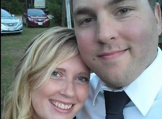 Photo of Corey Volland and Laura Wigelsworth from Facebook.