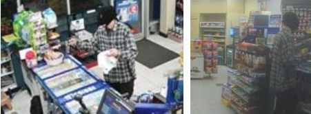 Photos of an armed robbery suspect courtesy of the Windsor Police Services.