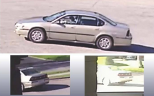 The suspect vehicle in a child abduction in north London on May 13, 2018. Photo provided by London Police Service.