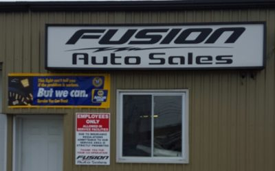 Fusion Auto Sales. (Photo courtesy of the company's Facebook page).