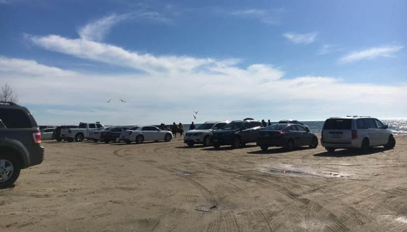 Beach Parking No Longer Acceptable In Many Areas