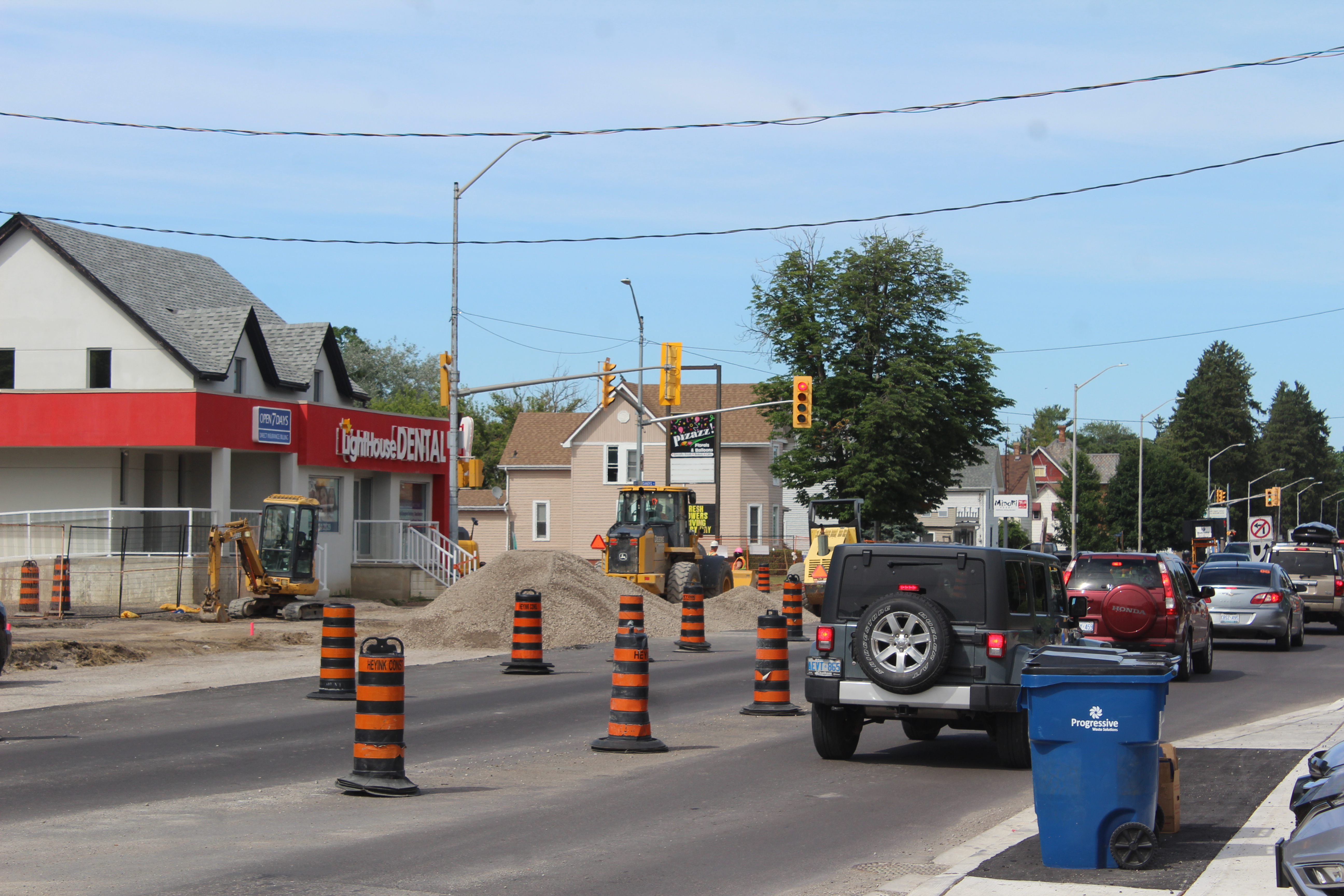 Grand Ave. Construction Taking Longer Than Expected