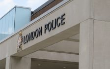 London police headquarters on Dundas St. file photo by Miranda Chant, Blackburn News