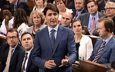 Prime Minister Justin Trudeau announces the legalization date for marijuana in Canada. (Photo courtesy of YouTube)