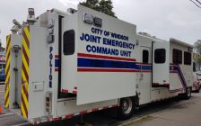 Windsor Police Service Joint Emergency Command Unit. (Photo courtesy of Windsor Police Service).